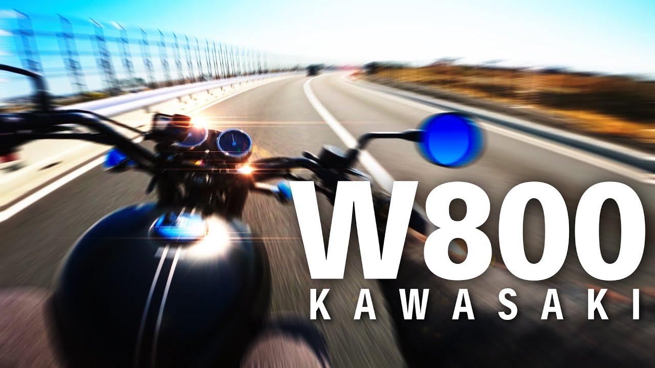 ロマン大爆発!試乗カワサキW800【KAWASAKI W800 STREET 2019】突然逃太郎のモトブログ