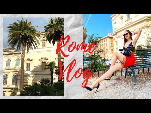 My Travel Vlog | discovering Rome - shopping, fashion, food - ローマの旅行ブログ - イタリアのファッション
