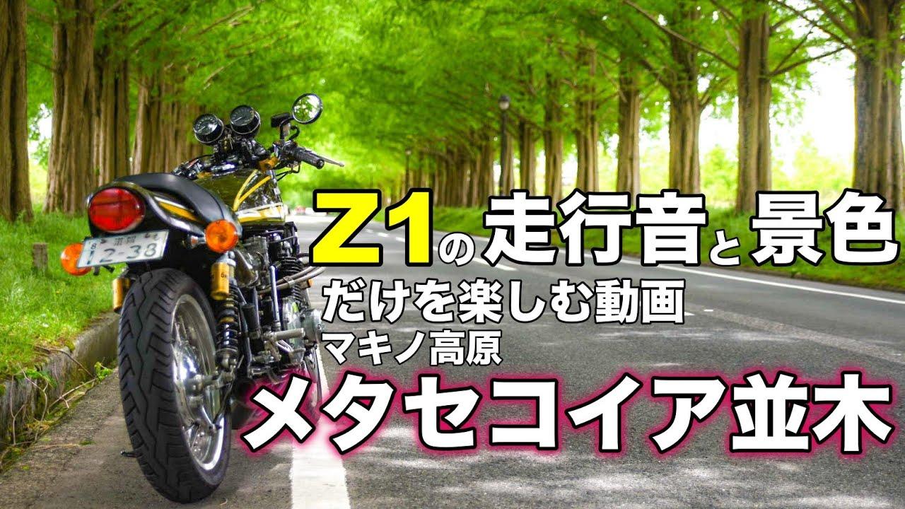 【モトブログ】Z1の走行音と景色だけを楽しむ動画【ゼットワン】