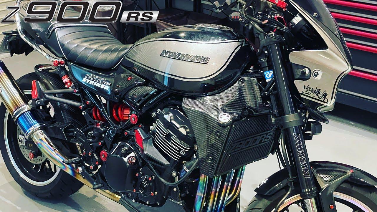 【モトブログ 】コンパクトなZ900RSのラジエーターに大迫力カーボンラジエーターシュラウドを取り付けてみた!【Z900RS】